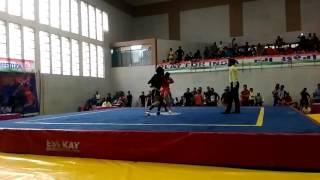 Wushu fight 60 kg