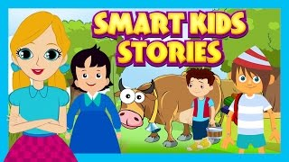 Smart Kids Stories - English Story Compilation For Kids || Animated Story Collection For Kids