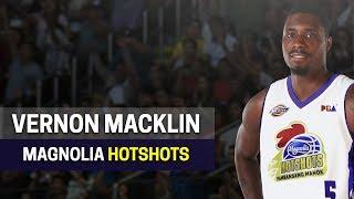 Vernon Macklin to Magnolia Hotshots?   PBA Commissioner's Cup 2018