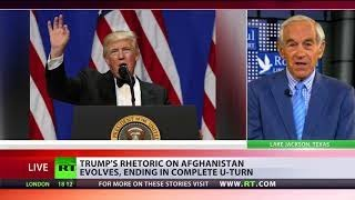 Killing in Afghanistan a recipe for disaster – Ron Paul on Trump's plan