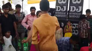 Telugu aunty hot dance perfamence