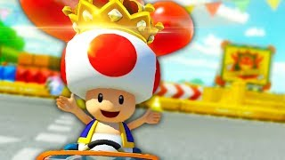 ALL HAIL KING TOAD | Mario Kart 8 Deluxe #5