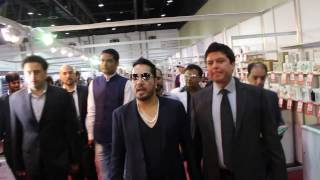 Mika Singh with Vijay Samyani in CBBC - Concept Big Brands Carnival Dubai