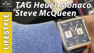 Tag Heuer Monaco Steve McQueen Watch Review • Watch Lifestyle Channel • CAW211P.FC6356