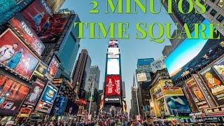 TIME SQUARE EM 2 MINUTOS