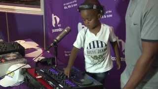 DJ Arch Jr (2 years old!) vs DJ Arod