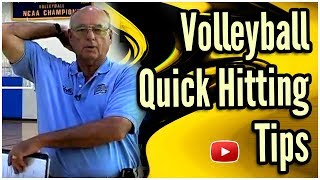 Volleyball - Quick Hitting (Spiking) Skills and Drills - Coach Al Scates