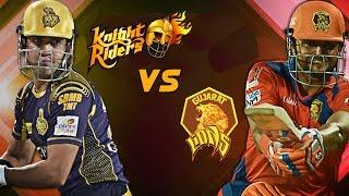 VIVO IPL 2017 - Knight Riders VS Lions Highlights  KKR VS GL 2017 4/21/17 (Don Bradman 17)
