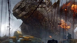 Godzilla vs Golden Gate Bridge Scene - Godzilla (2014) Movie Clip HD