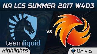 TL vs P1 Highlights Game 3 NA LCS Summer 2017 Team Liquid vs Phoenix1 by Onivia