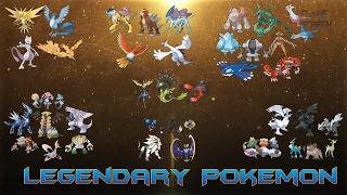 All Legendary Pokémon (Kanto - Alola)
