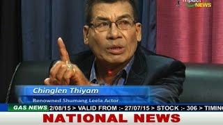 Actor Chinglen & Robindro on Manung Hutna Diwali Special 11Nov2015
