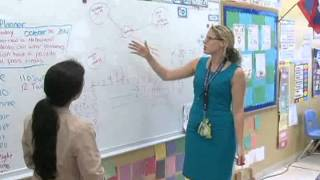 Teacher's direct approach helps students to succeed