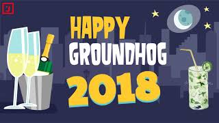 ✔ Happy Groundhog Day!