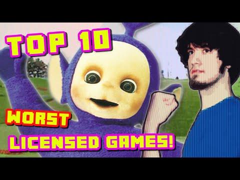 Top 10 WORST Licensed Games PBG
