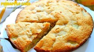 One Bowl Pineapple Cake