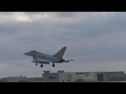 Eurofighter Senkrechtstart in Jagel Forceval 2013