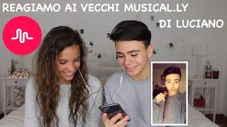 REAGIAMO AI VECCHI MUSICAL.LY DI LUCIANO SPINELLI || Iris Ferrari