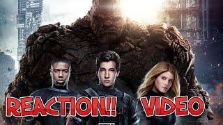 Fantastic Four   Heroes Unite Trailer (2015) REACTION!