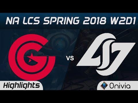 Xxx Mp4 CG Vs CLG Highlights NA LCS Spring 2018 W2D1 Clutch Gaming Vs Counter Logic Gaming By Onivia 3gp Sex