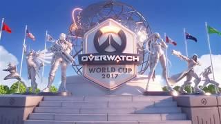 2017 Overwatch World Cup Playoffs Pre-Show | BlizzCon