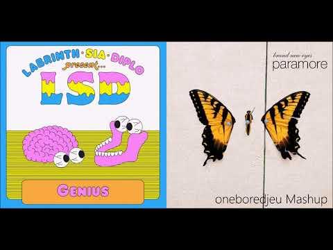 Idiot - LSD (Labrinth, Sia & Diplo) vs. Paramore (Mashup)