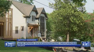 Raleigh family takes City, developer to court over home with 28-foot-wall