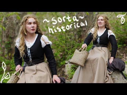 Making a sorta Historical Briar Rose Costume
