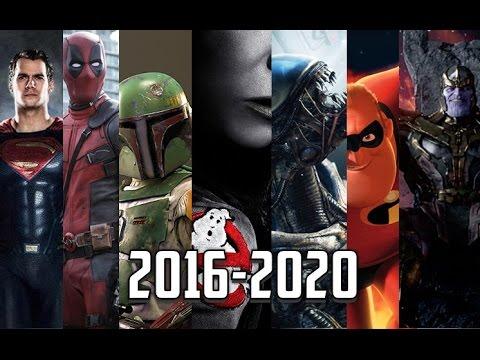 Upcoming Movies 2016-2020