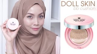 MAKEUP RAYA SIMPLE_ Doll Skin BB Cushion