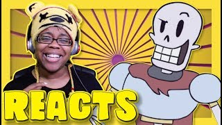Papyrus Finds a Human Undertale Animation Reaction