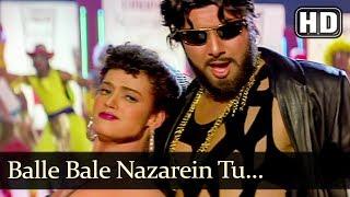 Balle Bale Nazarein Tu (HD) - Dulaara Song - Govinda - Karishma Kapoor - Dance Song