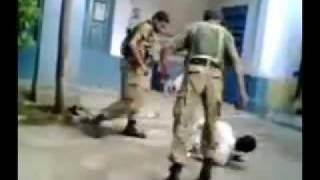 The Pakistan Army torturing during interrogation a innocent Pashtune.