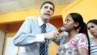 PASTOR SERGIO SORA   TUMOR MALIGNO SUMIU DA CABEÇA DA IRMA JUCELIA