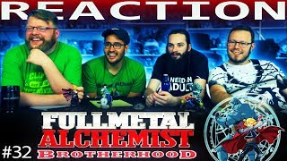 Fullmetal Alchemist: Brotherhood Episode 32 REACTION!!