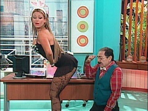 A Que Te Ríes Navarrete y su secretaria Sabrina