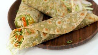 Vegetable Frankie   Mumbai Street Food Recipe by Chetna Patel