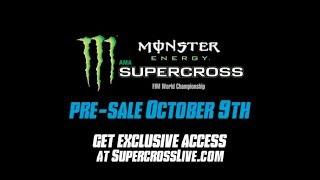 2019 Monster Energy Supercross Schedule