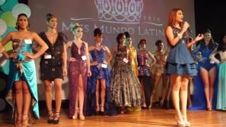 Miss Mundo Latina Puerto Rico- Competencia Top Model 2016