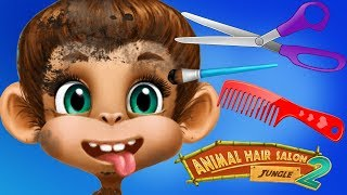 Fun Animals Jungle Pets Care - Animal Hair Salon Color, Style, Makeup Dress Up Makeover Kids App