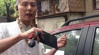 开启汽车锁的两种办法,气囊加快手,老视频
