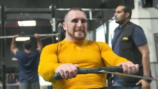Mojo Rawley hosts an open workout in Jeddah