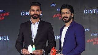 Harshvardhan Kapoor And Gold Medalist Arpinder Singh Launch Godrej Cinthol New Men's Grooming Range