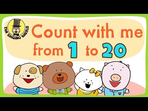 Xxx Mp4 Number Song 1 20 For Children Counting Numbers The Singing Walrus 3gp Sex