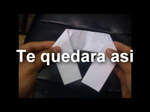Como hacer una pistola de papel Facil