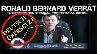 EX-ILLUMINATI Ronald Bernard beim Internationalen TRIBUNAL(DEUTSCH),Er verrät  grausame Dinge