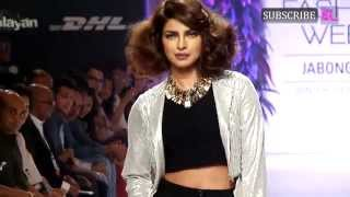Priyanka Chopra walks the Ramp at Final Day of LFW