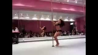 Agogo School 2014 - Dance Pole Lesson