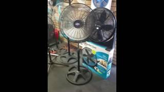 New 360 degree fan