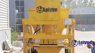 LEIYUE MACHINERY LY4-10 hydraulic soil Interlocking Block paver Bricks machine